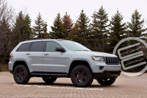 Jeep Grand Cherokee Moparized for Moab