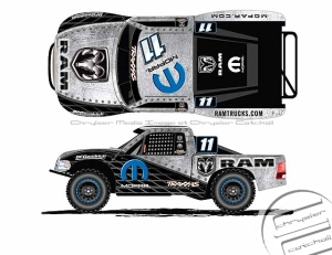 Ram Truck / Mopar® sponsored TORC Series Truck