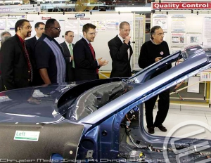 Sergio Marchionne and others tour SHAP