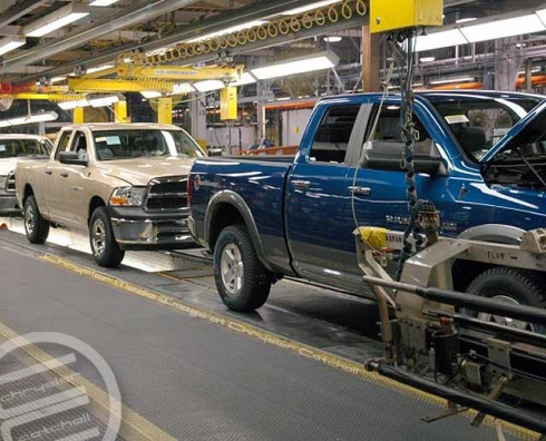 The Assembly Line at Warren Ram Truck Plant