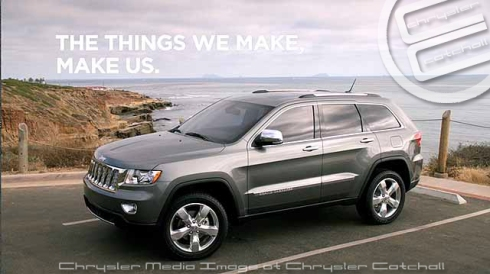 "Jeep Grand Cherokee ""Lower"" Commercial"