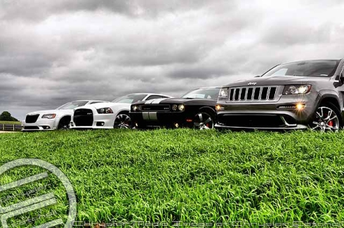 The 2012 SRT8 Family