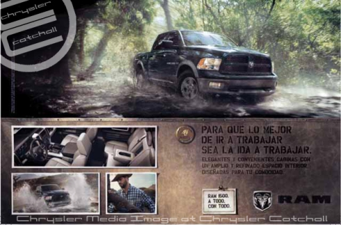 Ram's Hispanic Advertising Campaign