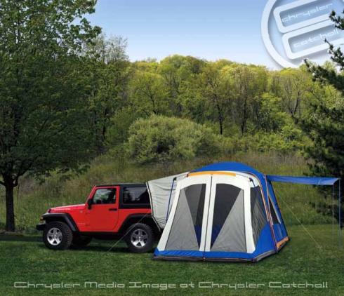 2012 Mopar Jeep Tent