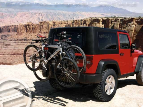 2012 Mopar Spare Tire-mounted Bike Carrier
