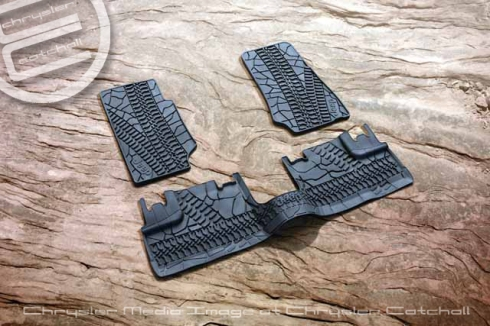 2012 Mopar Heavy-duty All-weather Floor Mats