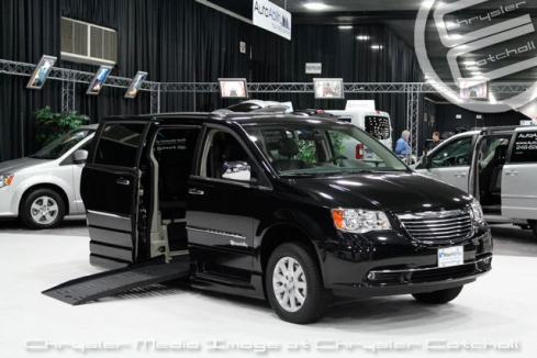 2012 Chrysler Town and Country Adapted for Mobility