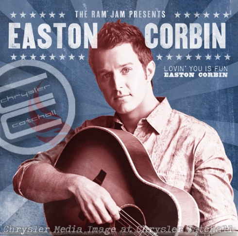 "Easton Corbin added to ""Road to the Ram® Jam"" series and sweepstakes"